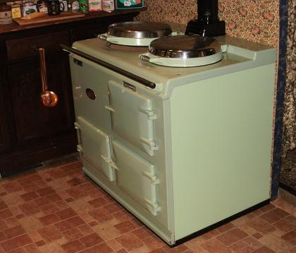 Aga Herd wok of kitchen das küchenmuseum küchen aus jeder epoche